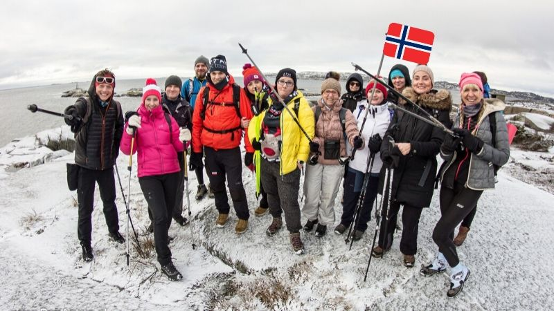 Trekking Nordic Walking Norwegia